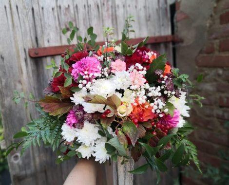 svatební kytice pro družičku