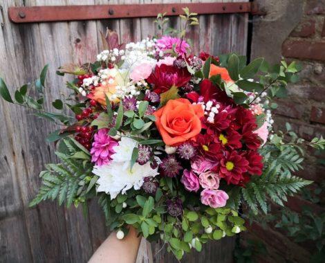 svatební kytice pro nevěstu Terezu